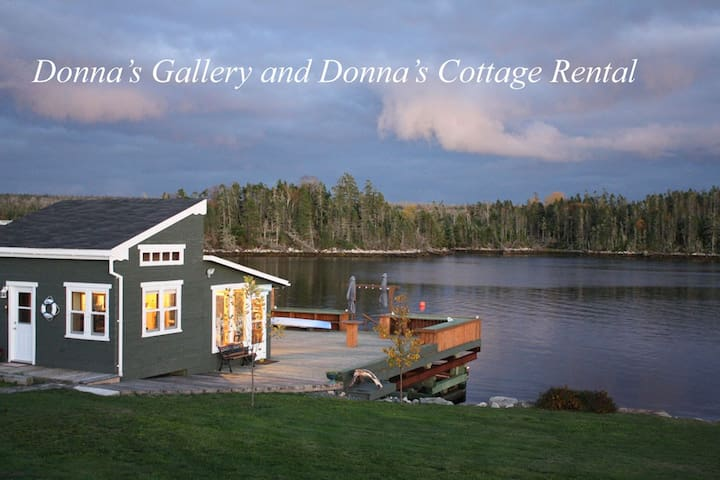 Donna's Cottage Rental on the Ocean - Halifax - Hytte
