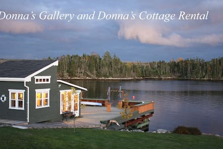Donna's Cottage Rental on the Ocean - Halifax - Srub