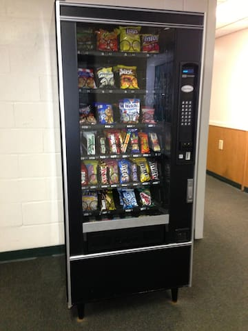 Snacks in bottom floor of Building