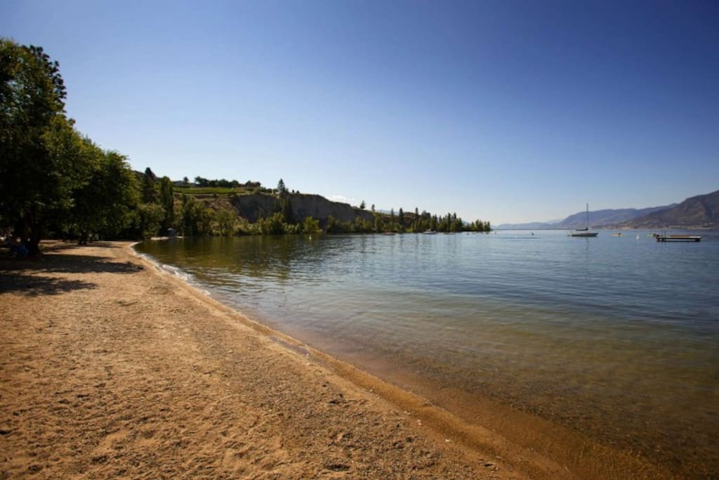 Beach at Manitou Park