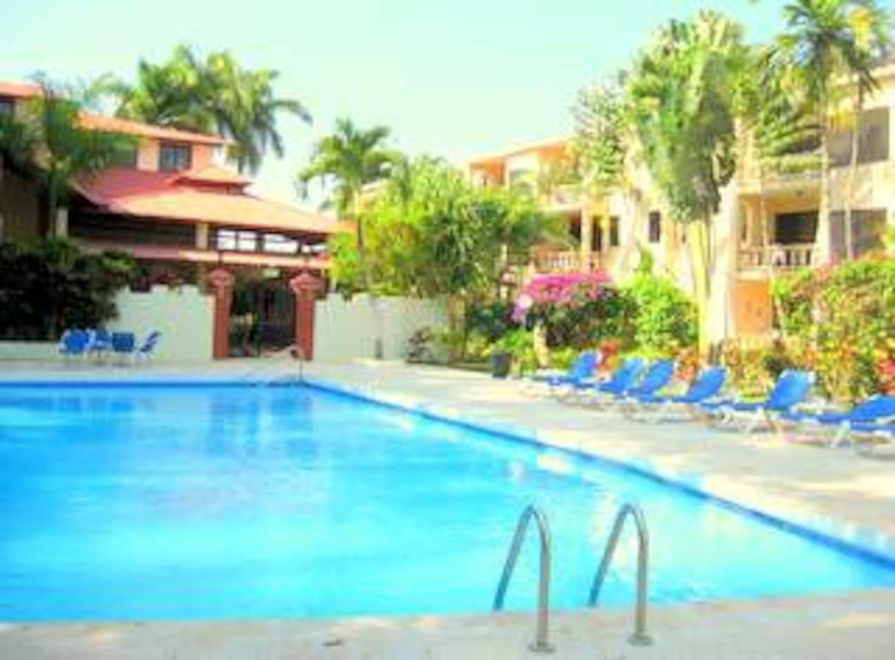 Swimming pool at Cita Del Sol