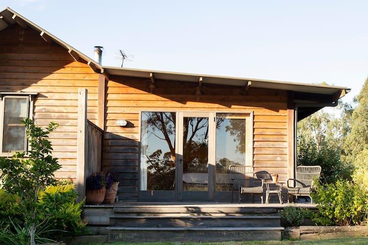 Lovingly restored Yarra Valley Settler's Cottage