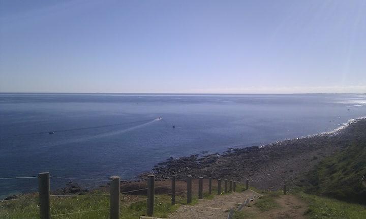 Sea views in Adelaide