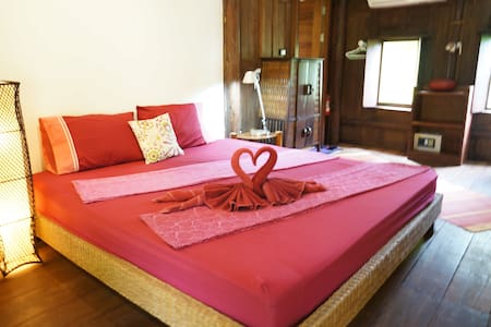 Romantic teak Thai-house on Island - Koh Mak Island - Hus