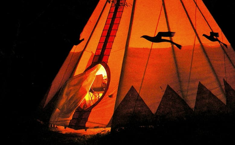 Chief Seattle Tipi at Tipi Village  - Marcola