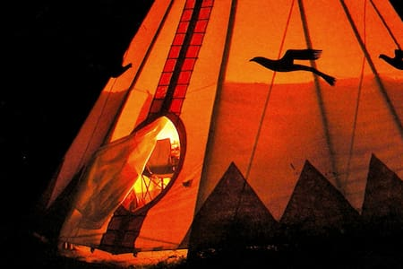 Chief Seattle Tipi at Tipi Village  - Marcola - Tipi