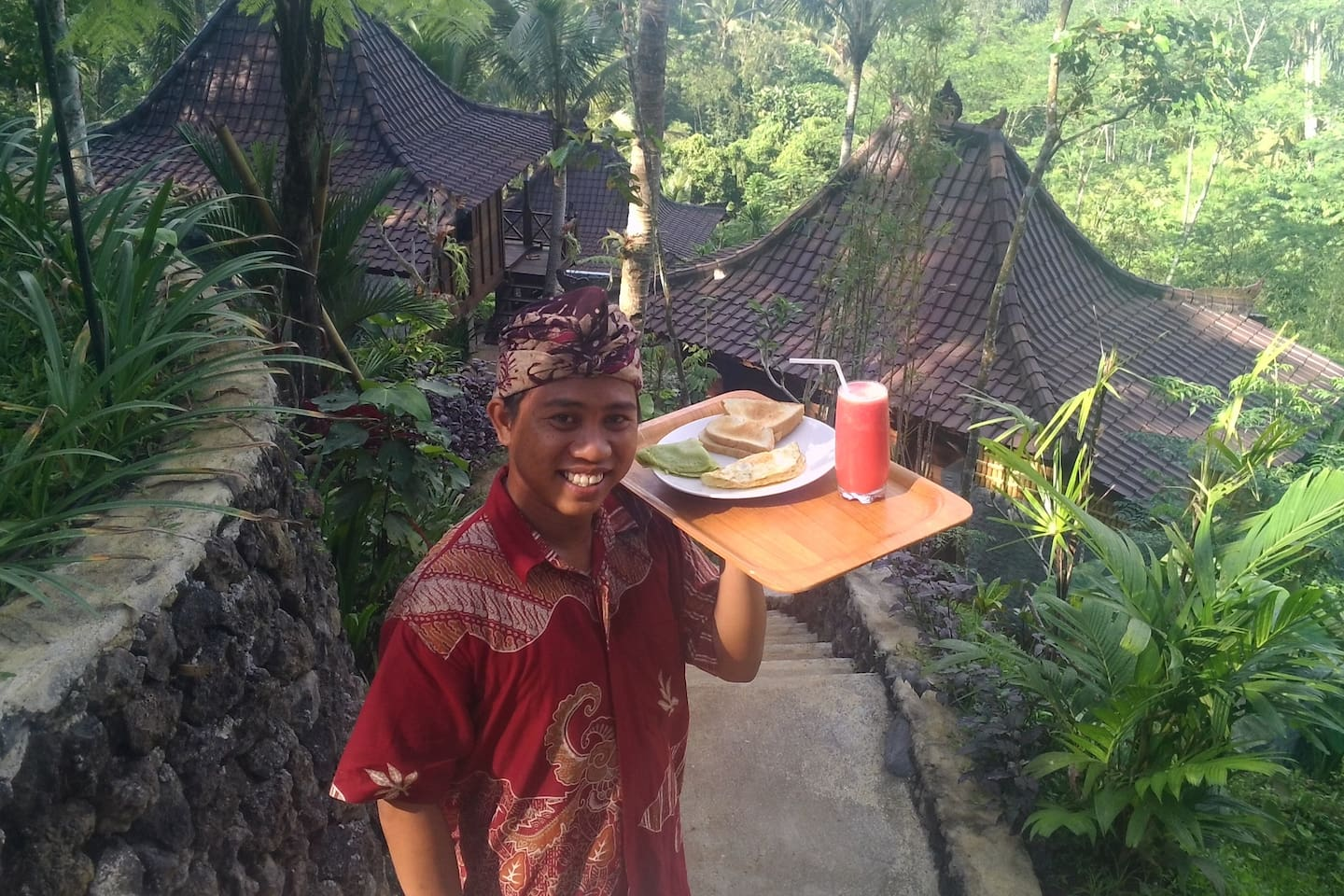 Your Breakfast and Room Service while you stay at DD Ubud Villa