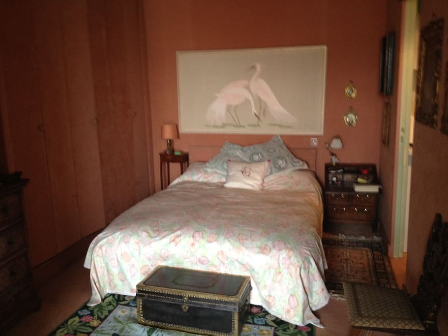 the bed corner