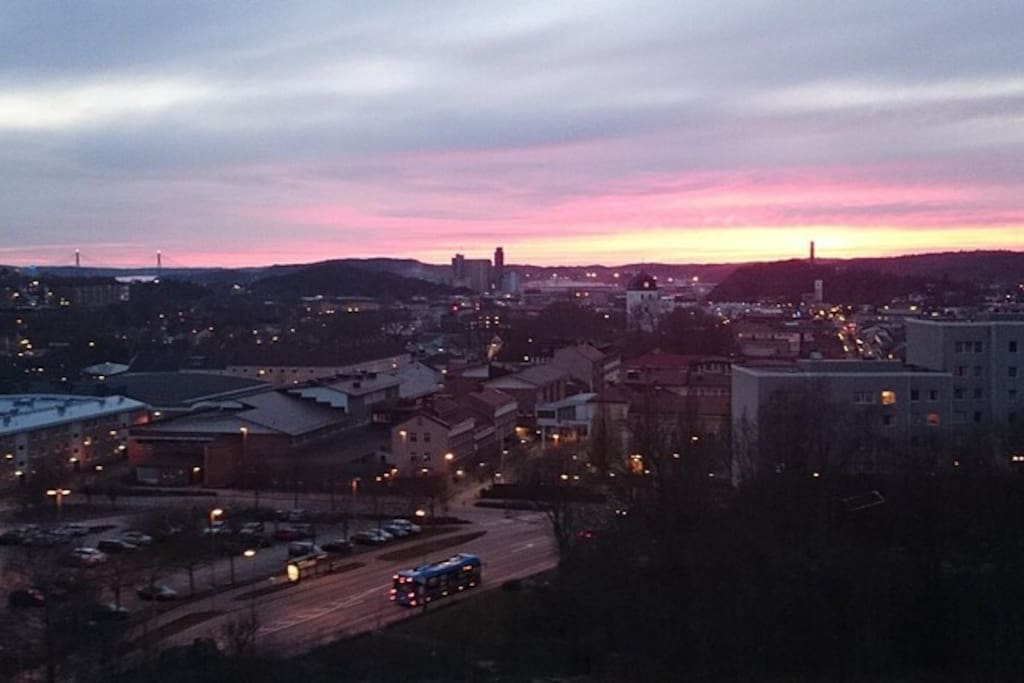 View over Uddevalla
