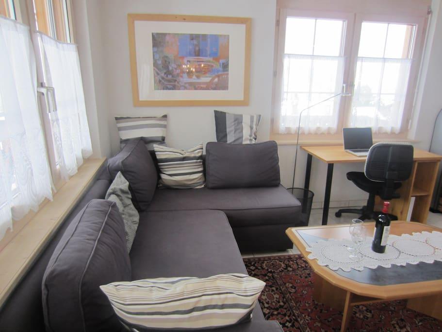 Appartment in 1700m mit traumblick appartamenti in for Wohnzimmer 20 grad