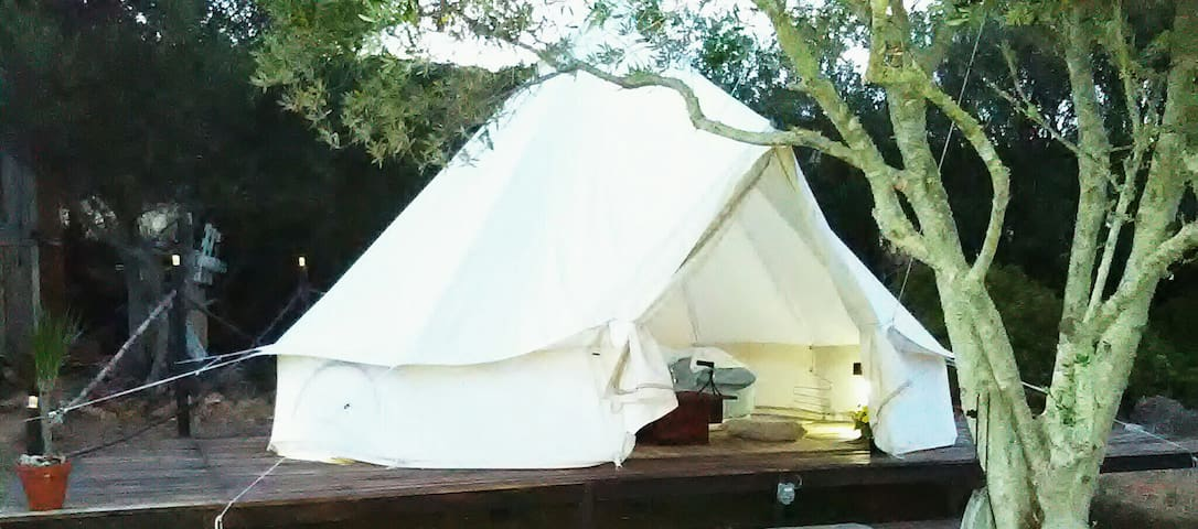 Glamping Endless Summer tipi Nature