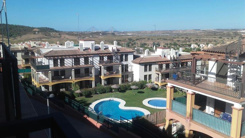 Tranquilo apartamento en Costa Esuri Ayamonte 70m2