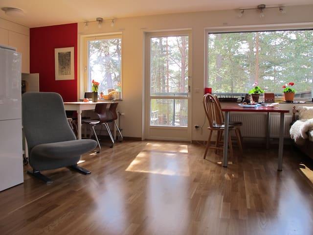 Modern apartment in nature area - Uppsala - Apartment