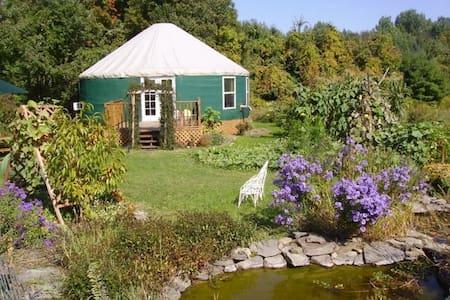 Elegant and Unique Garden Yurt - Newfield
