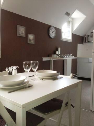 Jasmin Location meublée avec parking privé - Troyes - Apartment