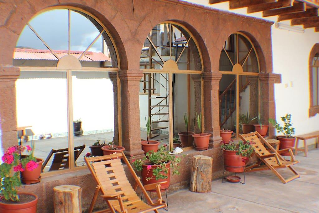 Room 1 looking twords balcony