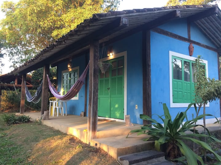 Casa loft aconchegante em Itaunas