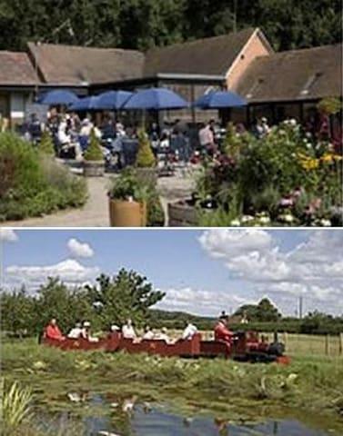 Hiller's Garden Centre, Garden, Farm Shop and miniature railway 9m