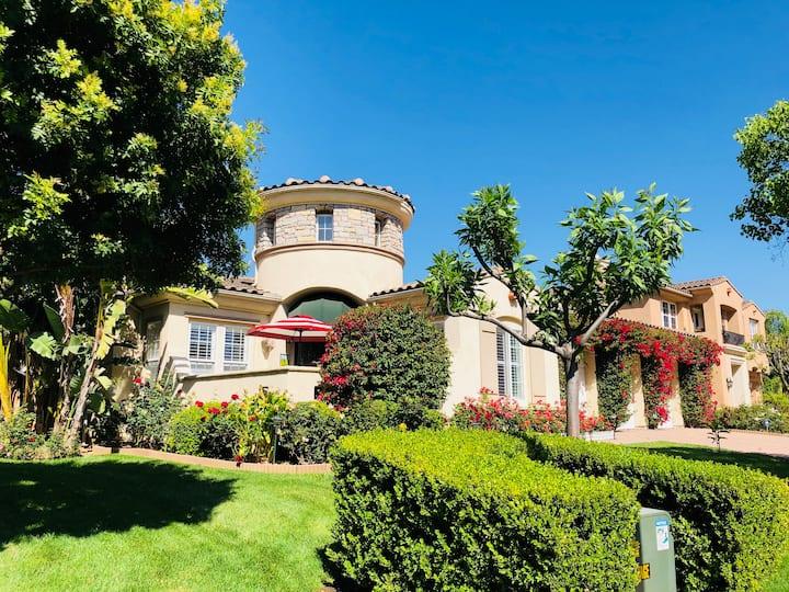 3.5Ksqft Luxury Castle in 12K Yard/30min to Disney
