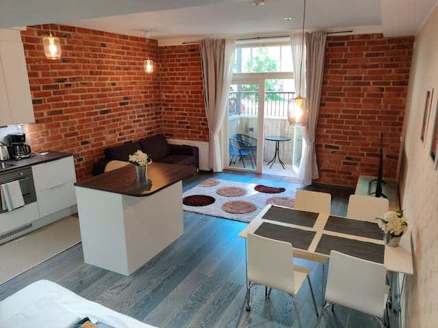 Unique new home in the city center, 4 guest!