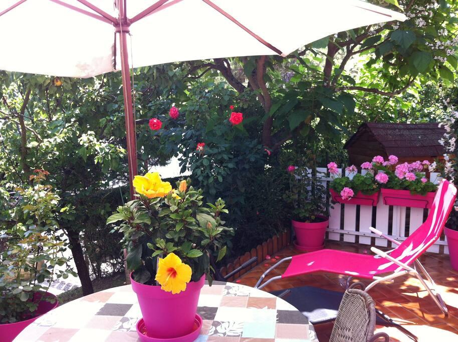 Proche plage avec jardin villa 70 m2 maisons louer for Jardin 70 m2