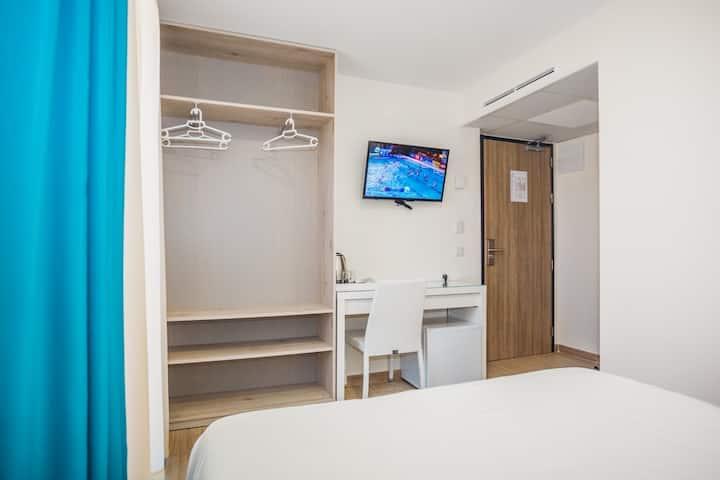 Double room in Hostal Sol Esperit