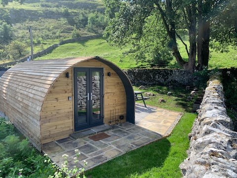 Northcote pods, Yorkshire Dales National Park