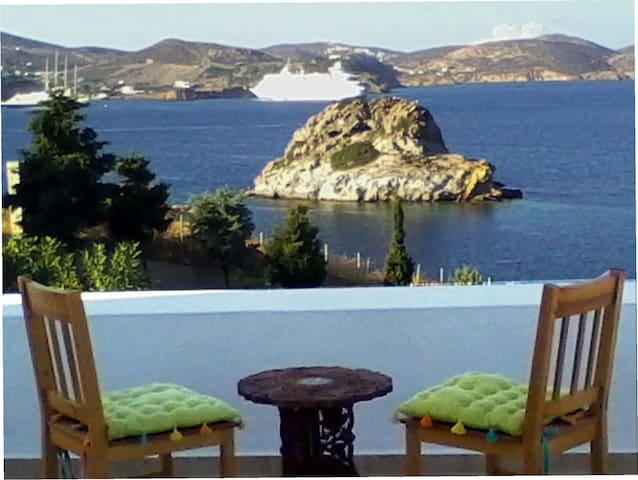 Garden sea Panorama