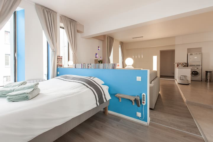 """Le Loft du Faisan"" 3* Loft in the historic Center"