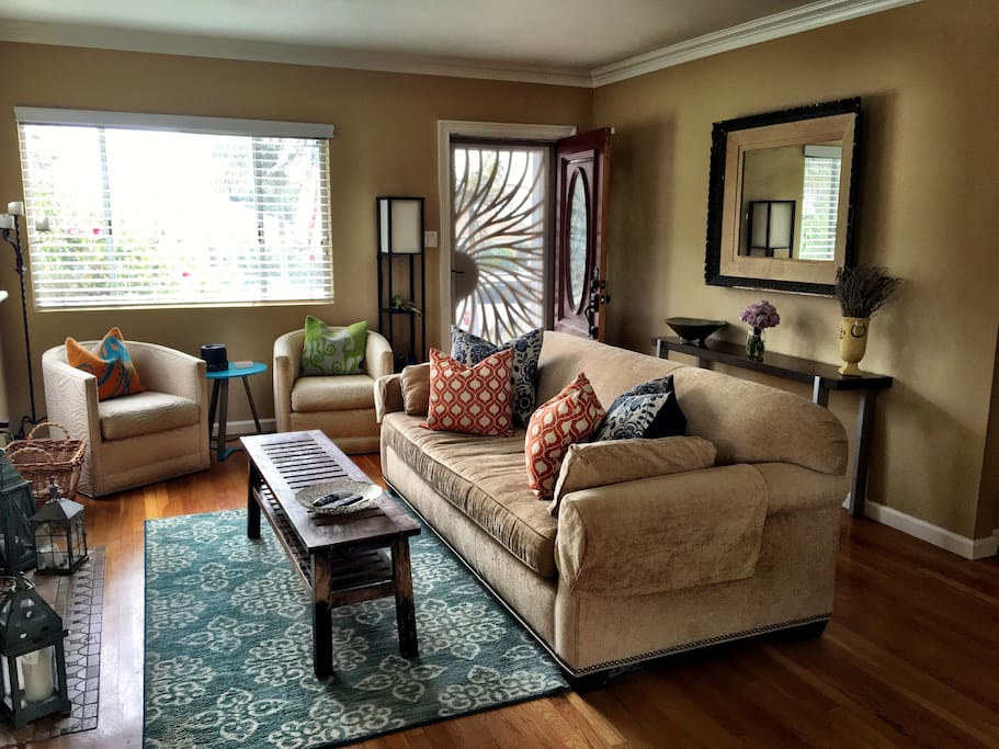 Living Room (view from dining area.)