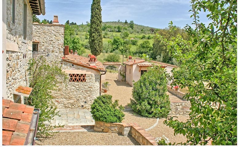 35-HECTARE ESTATE GRASSINA- THE DREAM TUSCAN STAY