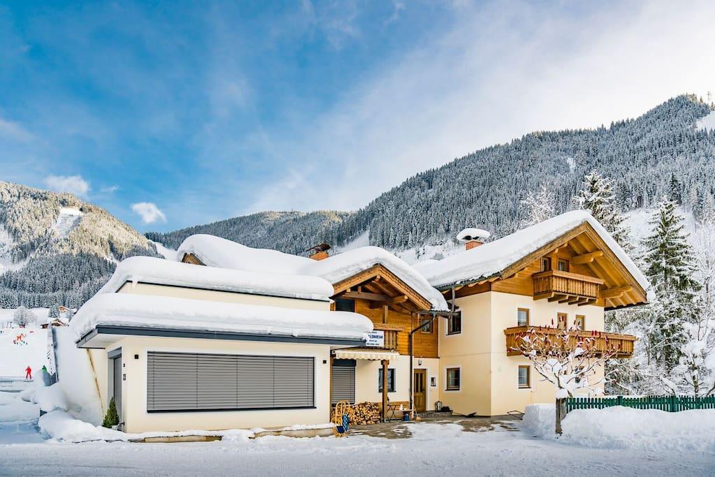 Haus Waldheim Winter 2
