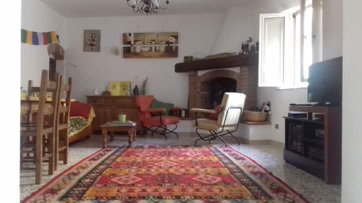 Our home in Montecastello