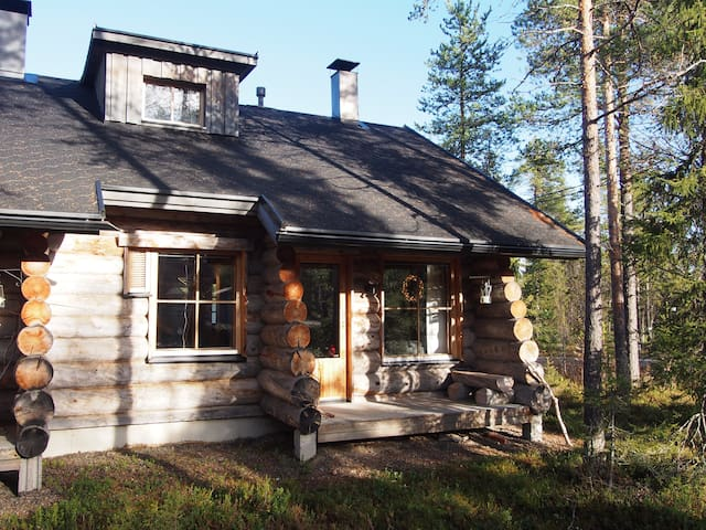 HIGH QUALITY LOG CABIN in Ylläs. Perfect location! - Kolari - Apartamento