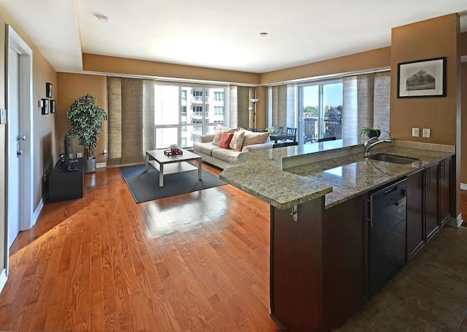 Luxury two bedroom condo in Downtown core - Ottawa - Apartment