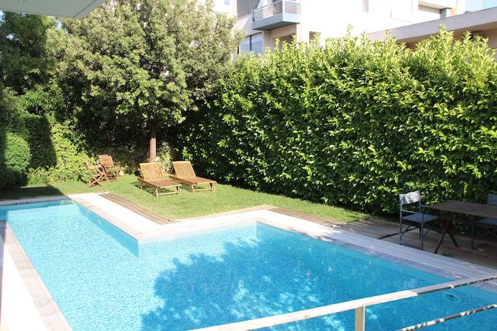 Glyfada Luxury, Apartment with garden view