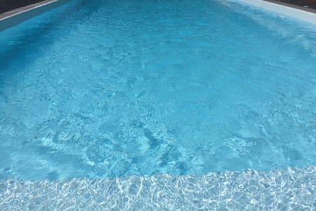 Gîte avec piscine en Bretagne.