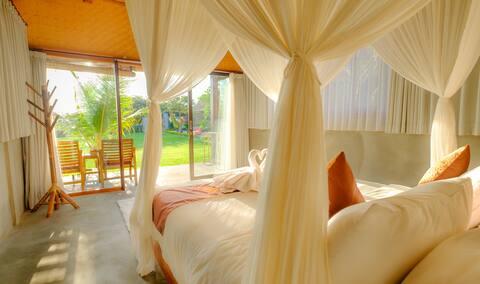 Sahadewa Canggu Wooden Green Paradise Bungalow