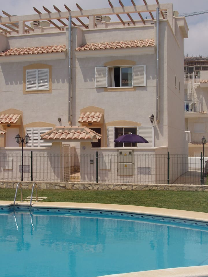 Lovely poolside town house, Aguilas, Murcia Region