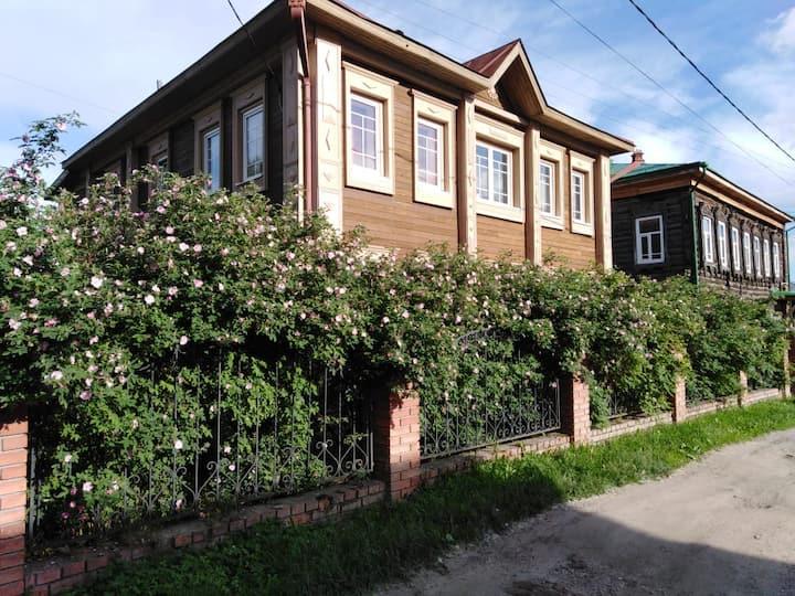 3 комнатная квартира в центре города Томска