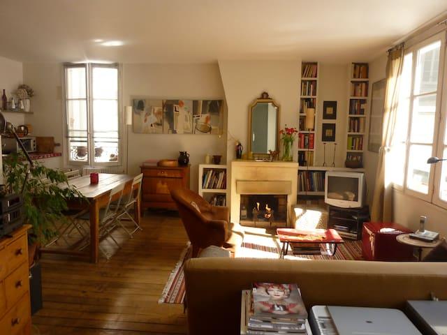 Parisian Flat/Loft Marais - Vosges - París - Apartamento