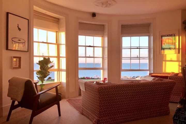 A seafront apartment in the heart of Margate