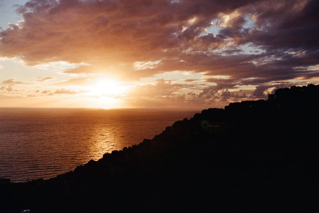 Sunset from Casa San Marko