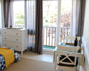 Pretty studio full equipped at 500m from the beach
