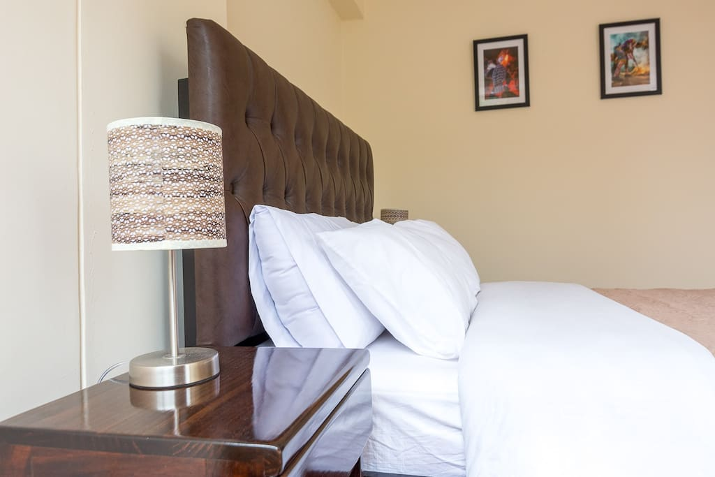 Habitación privada con cama matrimonial