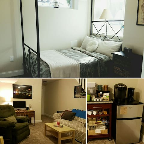 Cozy Private Suite with City Charm & Parking! - Baltimore