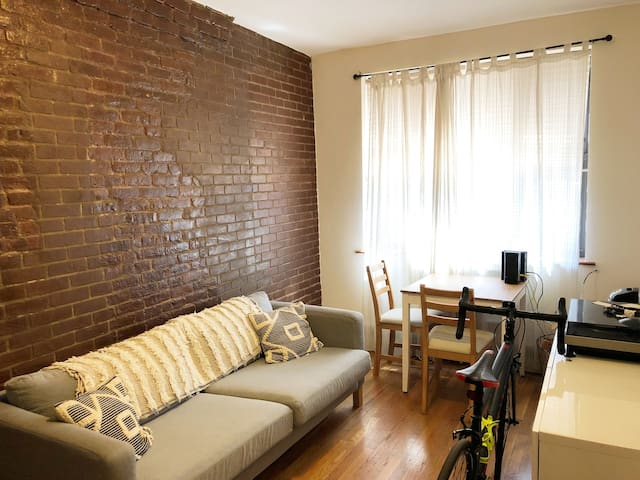 East Village Duplex with Huge Backyard