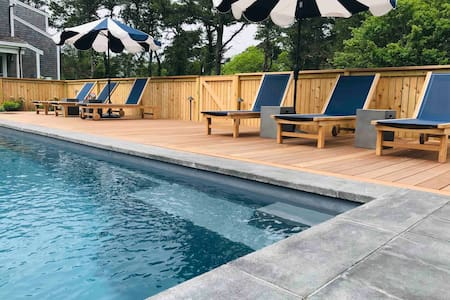 Nantucket vacation pad near Cisco Brewers-Pool/Spa