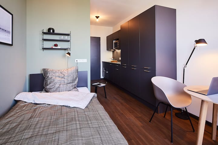 Serviced Apartment in Downtown Essen, Lounge