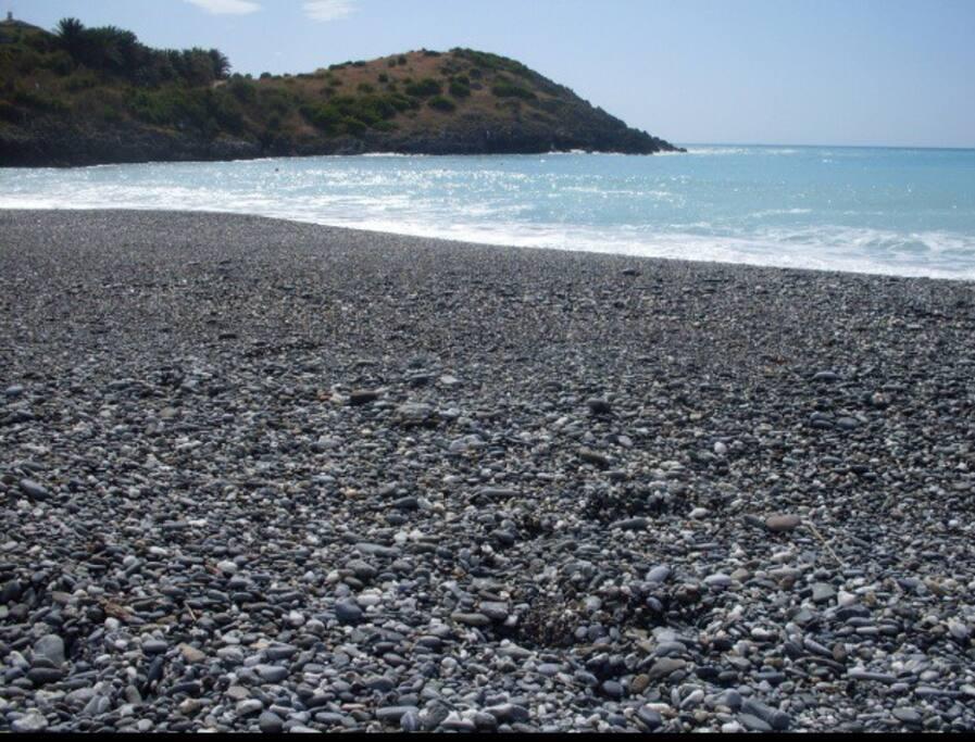 La spiaggia più vicina